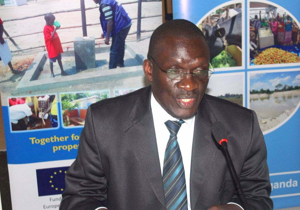 The Commissioner for Refugees and Disaster Preparedness in the Office of Prime Minister, Martin Owor