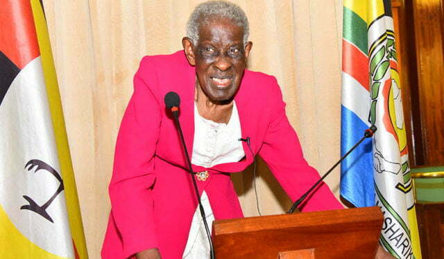 Florence Lubega first female parliamentarian in Uganda