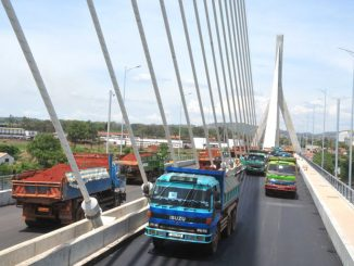 New Jinja bridge has no provision for motorcycles