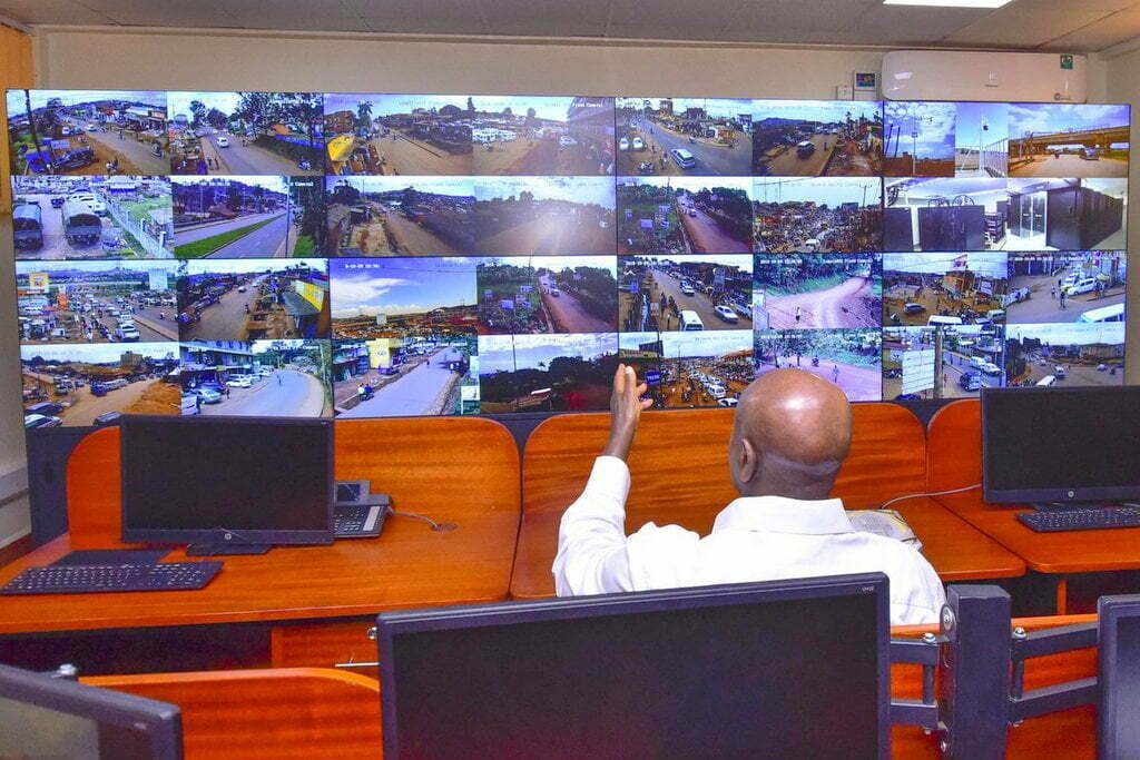 Kampala CCTV Command Centre Commissioned