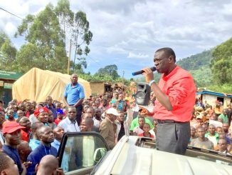 Uganda's opposition asks Bududa residents to reject gov't relocation plan