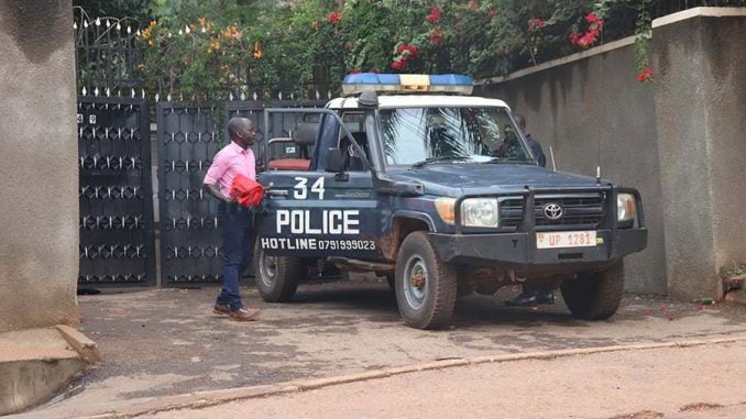Police raid Byanyima's house, recover 24 red napkins