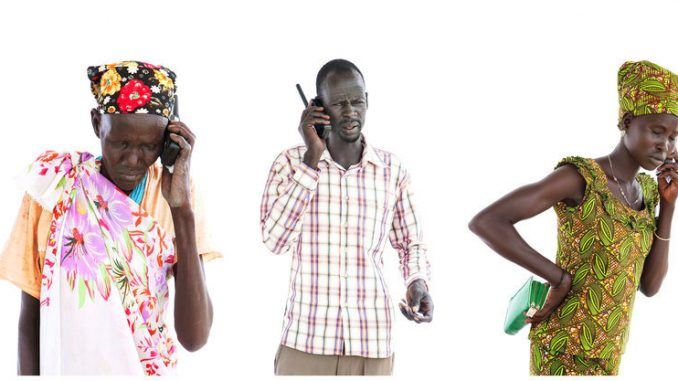South Sudan refugees in Lamwo celebrate improved mobile telephone services