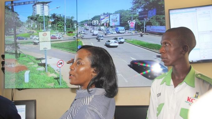 KCCA launch traffic control centre to monitor traffic in Kampala