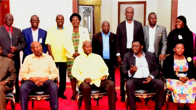 President Museveni asks opposition to fight electoral violence
