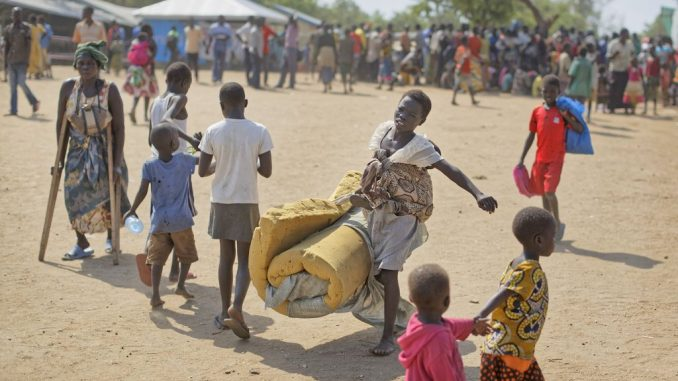 Influx of South Sudanese refugees to Uganda drops