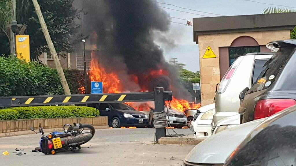 Explosion, gunfire reported in Westlands, Nairobi