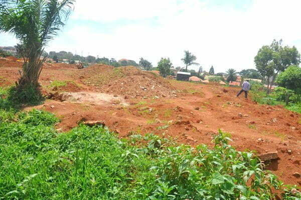 Increasing rate of wetland encroachment in Entebbe Municipality