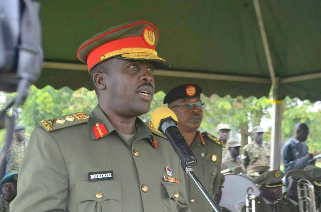 The Commander of the Defense Forces Gen. David Muhoozi