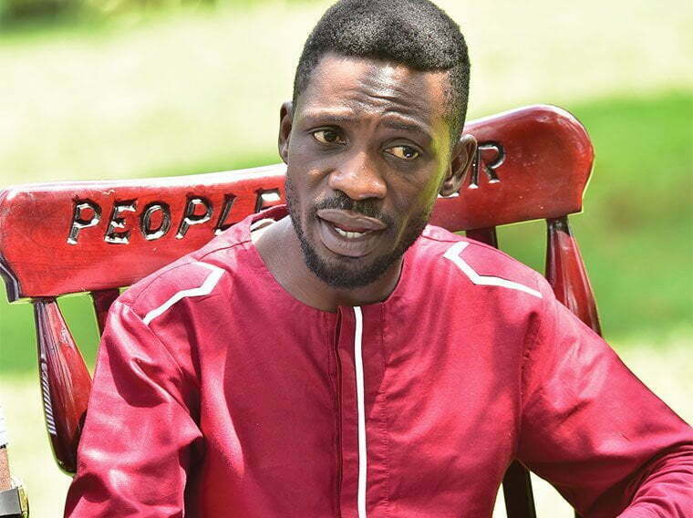 Violent people are not part of People Power - Bobi Wine
