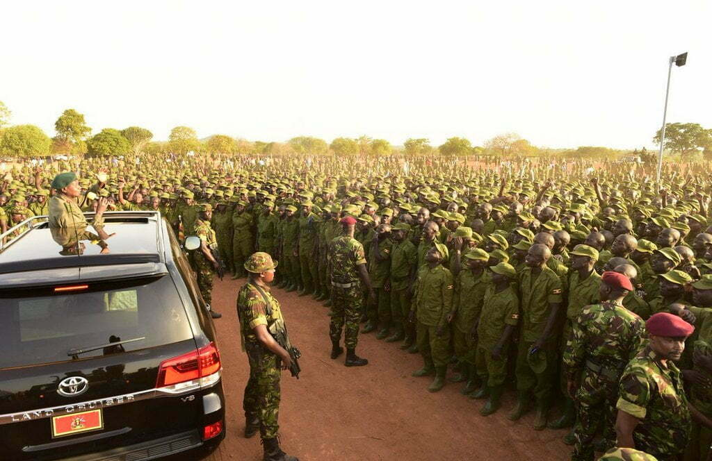 More than 800 UPDF officers selected to command LDUs in Kampala