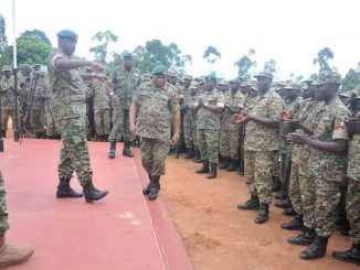 UPDF sends 1,800 soldiers to Somalia for peace mission