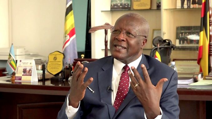 Justice Katureebe flies to South Africa for eye surgery