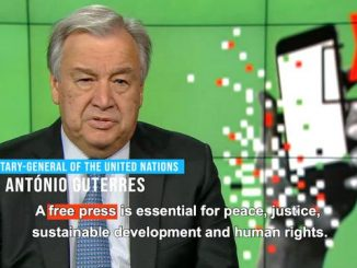 Free press a cornerstone for accountability - UN Chief Guterres