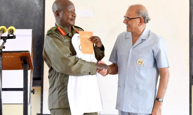 Hand power to young generation - Prof Yash Tandon urges Museveni