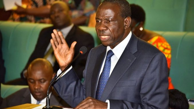 Minister Kasaija warns contractor over failure to compensate residents