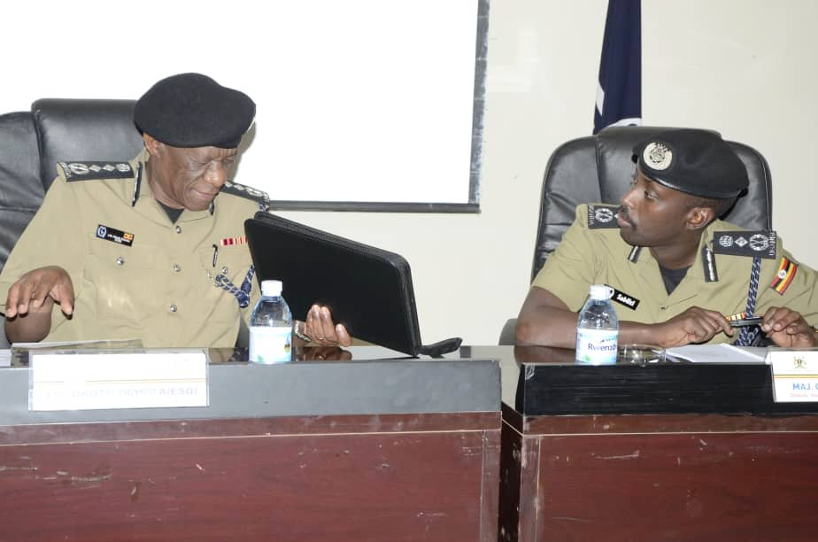 Museveni tasks police managers to improve public image