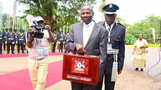 How 2019/2020 Ugandan budget will be financed