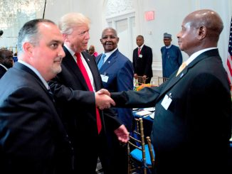 Court stuck with application against Donald Trump, Museveni
