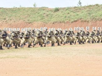 Uganda Police Force confirms 859 cadets