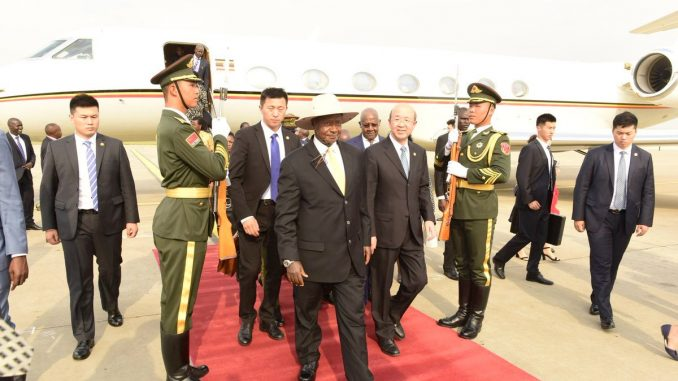 Museveni, Chinese president expected to discuss funding for SGR