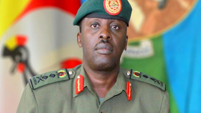 Gen. David Muhoozi holds Ad hoc meeting with police commanders