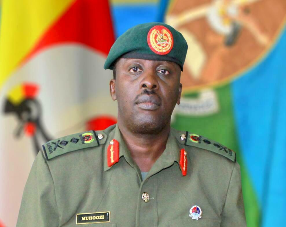 Chief of Defence Forces Gen David Muhoozi