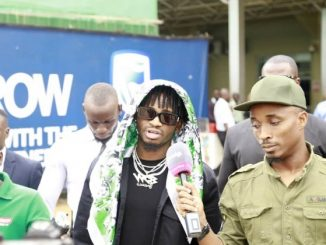 Diamond Platnumz ready to thrill his Ugandan fans at the Comedy Store tonight