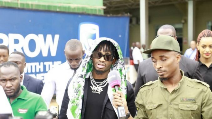 Diamond Platnumz ready to thrill his Ugandan fans at the