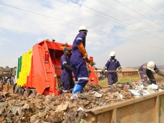 Kampala city markets choke on uncollected garbage