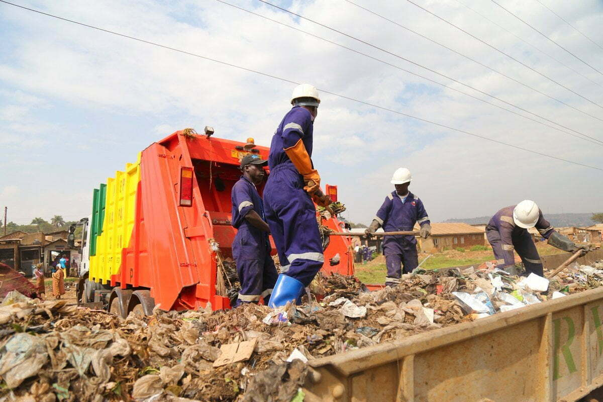 Kampala Capital City Authority (KCCA) garbage collection