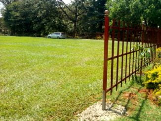 Makerere University Freedom Square fenced off