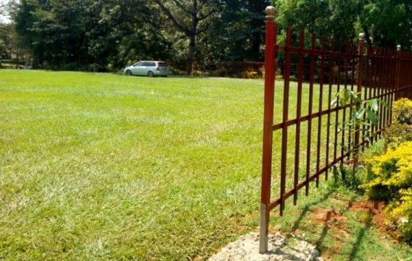 Makerere University Freedom Square fenced off