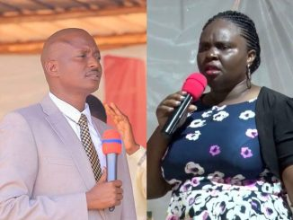 Women activists protest over Pastor Bugingo verbally shaming estranged wife in public