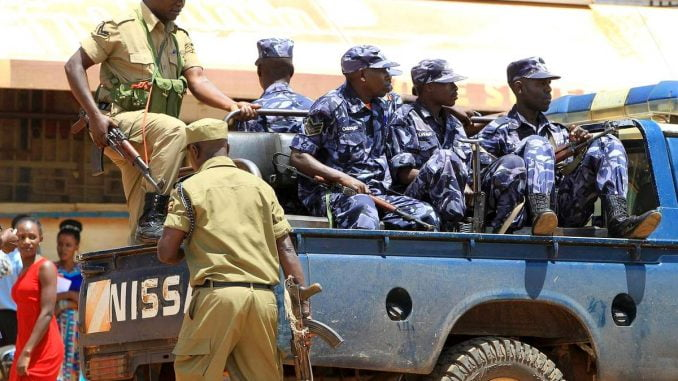 Uganda police arrests 60 suspected criminals in Kampala