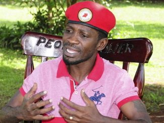 Police disperse Bobi Wine's supporters in Gomba