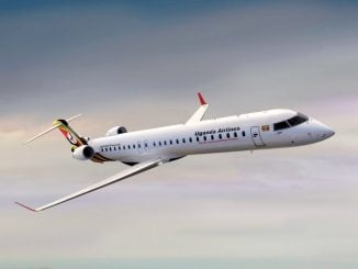 Uganda Airlines maiden commercial flight had eight passengers on board