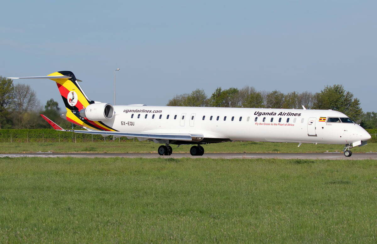 Uganda Airlines maiden flight