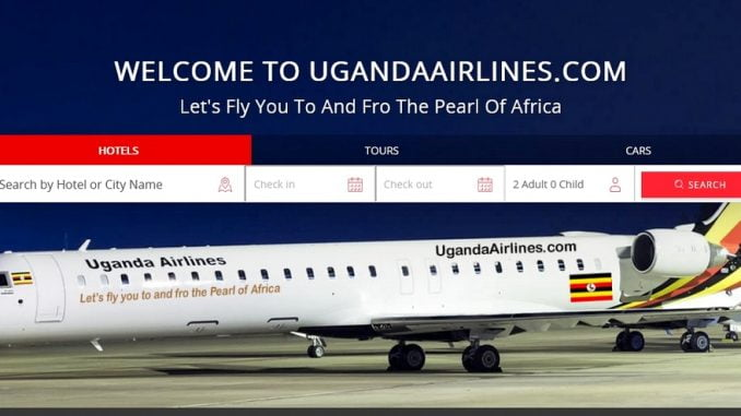 Identical website confusing people booking Uganda Airlines flight