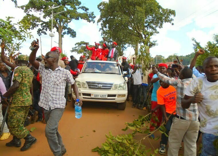 Bobi Wine, Zaake receive heroic welcome in Hoima amidst tight security
