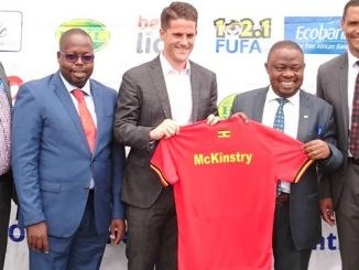 34-year-old McKinstry named new Uganda Cranes coach