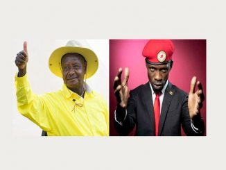 Heavy deployment as Museveni, Bobi Wine campaign in Hoima town