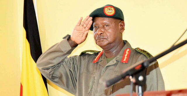 Police, Army Chiefs meet Museveni in Kisozi over gang raids