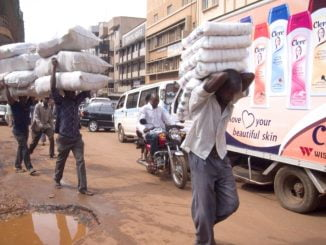 Ugandan traders stock-up for Christmas but decry heavy taxes