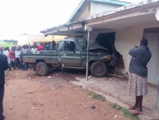 Four UPDF soldiers killed as truck rams into beer depot in Kaboong