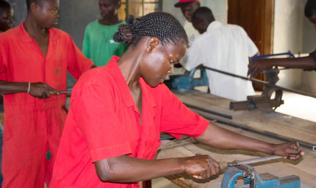 Uganda's industrial skills training center takes shape