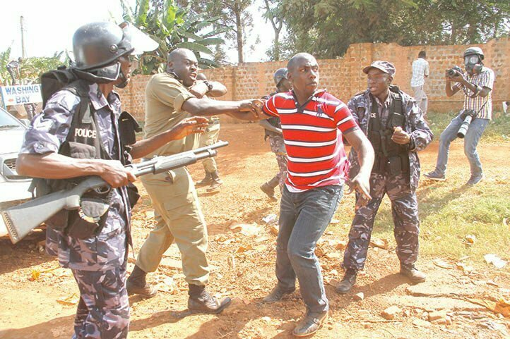 Panic as former Amama Mbabazi bodyguard stages 'armed' protest