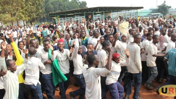 Bidco Uganda casual laborers protest poor working conditions