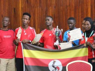 Kenya's Mutua stops Omongole in eastern Africa table tennis championship final