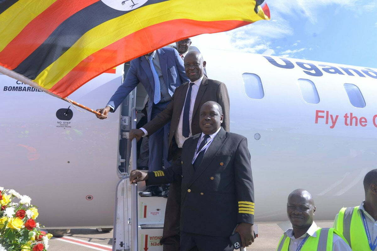 Uganda Airlines completes maiden flight to Mombasa